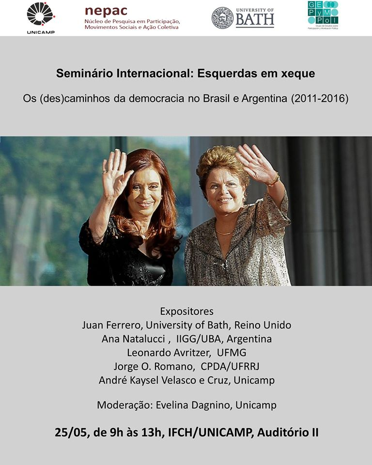 Esquerdas em Xeque - democracia no Brasil e na Argentina